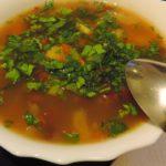 Грибной суп с куркумой